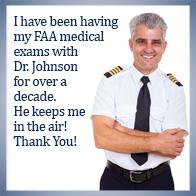 Senior Aviation Medical Examiner in Fredericksburg VA